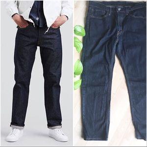 LEVIS 541 Denim Jeans Dark Blue Straight 34 x 30